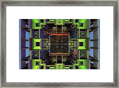 Framed Content Framed Print by Ricky Jarnagin