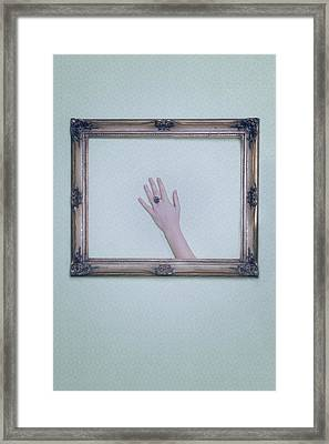 Framed Hand Framed Print by Joana Kruse