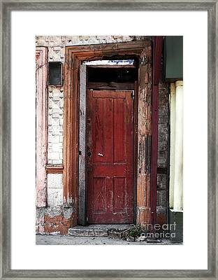 Framed In Panama Framed Print by John Rizzuto
