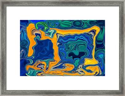 Framed Framed Print by Omaste Witkowski
