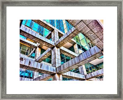 Frames II Framed Print by Mark Alder