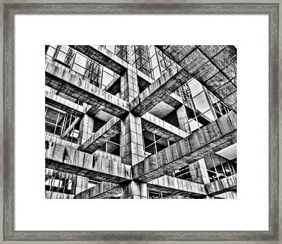 Frames Framed Print by Mark Alder