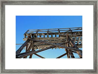 Framework Framed Print by Mary Haber
