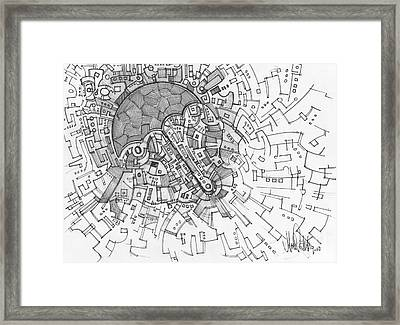 Framework Framed Print by Michael Ciccotello