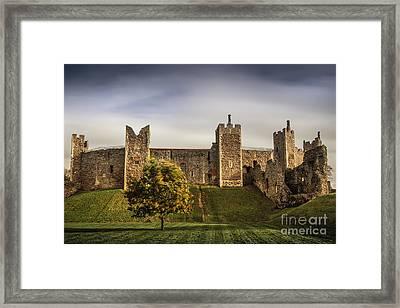 Framlingham Castle Framed Print