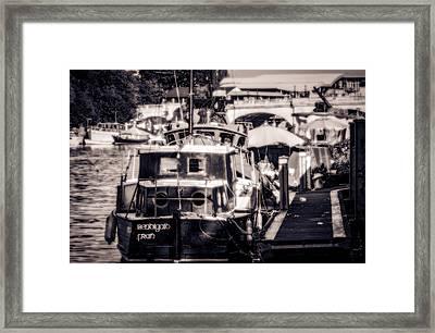 Fran Framed Print