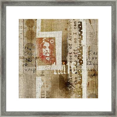 France 1m16 Collage Framed Print by Carol Leigh