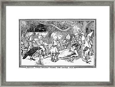 France Abeille, 1907 Framed Print by Granger