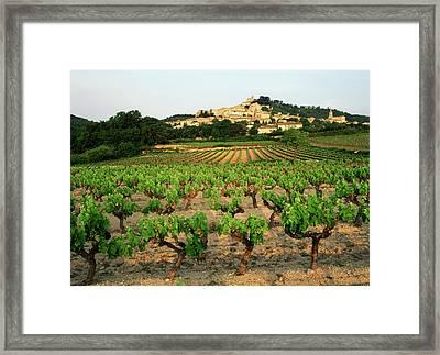 France, Bonnieux, Vaucluse, Luberon Framed Print
