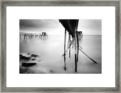 France Cabanes Framed Print by Nina Papiorek
