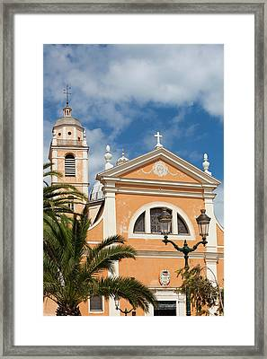 France, Corsica, Ajaccio, The Cathedral Framed Print