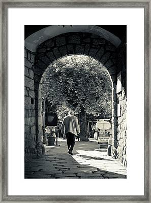 France, Corsica, Le Satenais, Sartene Framed Print
