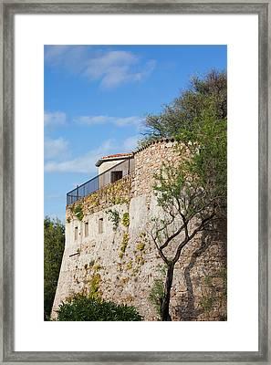 France, Corsica, Porto Vecchio, Citadel Framed Print