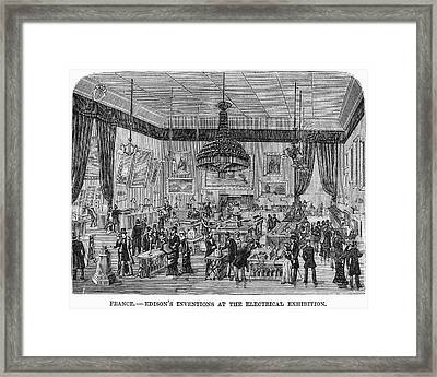 France Exhibition, 1881 Framed Print by Granger