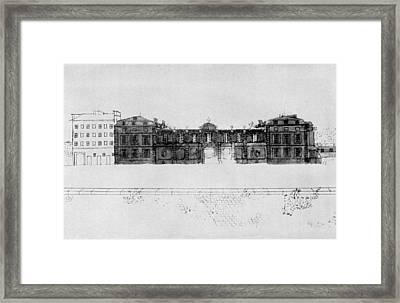 France H�tel De Valentinois Framed Print by Granger
