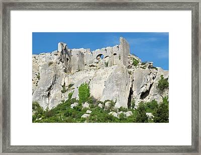 France, Les Baux-de-provence, Ruins Framed Print