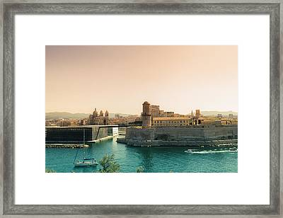 France - Marseille - Port Of Beauty Framed Print by Vivienne Gucwa