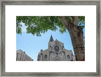 France, Nimes, Saint Paul Church Framed Print by Emily Wilson