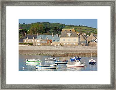 France, Normandy, Omonville La Rogue Framed Print by Walter Bibikow