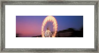 France, Paris, Tuilleries Framed Print by Panoramic Images