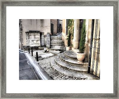 France, Provence, Bonnieux Framed Print by Julie Eggers