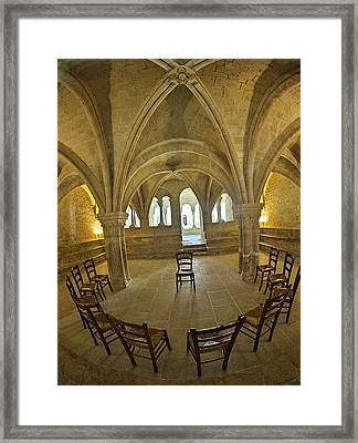 France, Provence, Seananque Abbey Framed Print