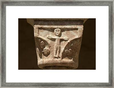 France. Saint G�nis-des-fontaines Framed Print by Everett
