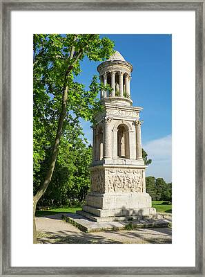 France, Saint Remy De Provence Framed Print by Emily Wilson