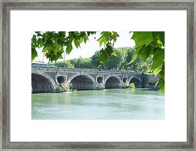 France, Toulouse, Pont Neuf Bridge Framed Print by Emily Wilson