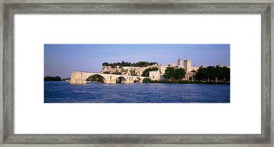 France, Vaucluse, Avignon, Palais Des Framed Print