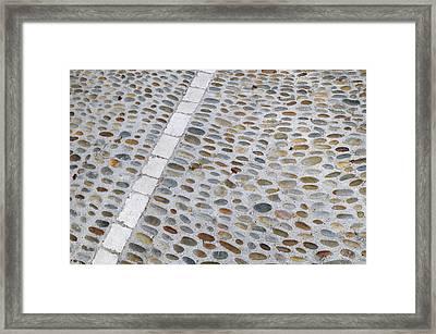 France, Vaucluse, Lourmarin Framed Print