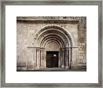 France. Villefranche-de-conflent Framed Print by Everett