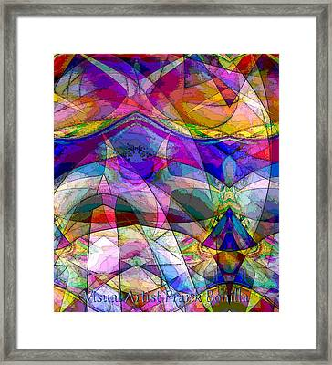 France Framed Print by Visual Artist Frank Bonilla