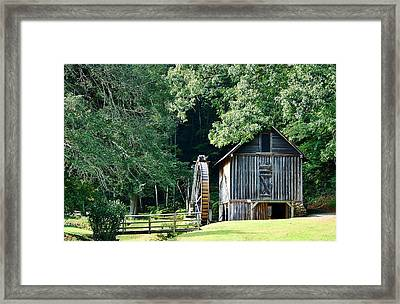 Frances Mill Framed Print by Marilyn Carlyle Greiner