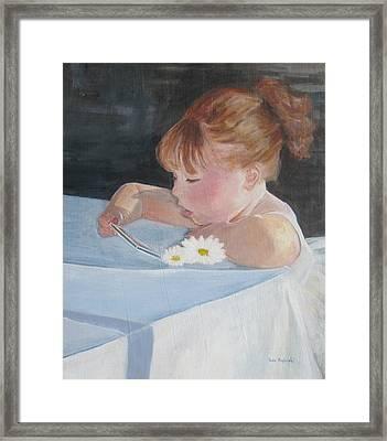 Francesca Grace Framed Print