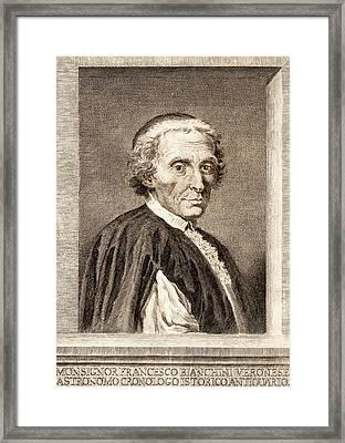 Francesco Bianchini Framed Print by Universal History Archive/uig
