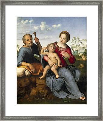 Franciabigio, Francesco Di Cristofano Framed Print by Everett