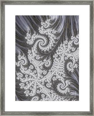 Franciful Frost  Framed Print by Heidi Smith
