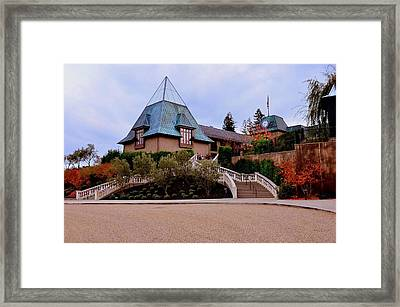 Francis Ford Coppola Wine Tasting Entrance Framed Print