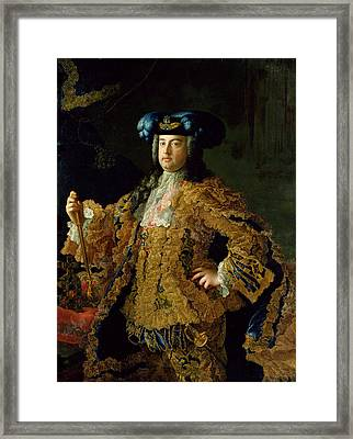 Francis I 1708-65 Holy Roman Emperor And Husband Of Empress Maria Theresa Of Austria 1717-80 Framed Print by Martin II Mytens or Meytens
