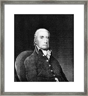Francis Lewis (1713-1803) Framed Print by Granger