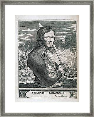 Francis L'ollonais Framed Print by British Library