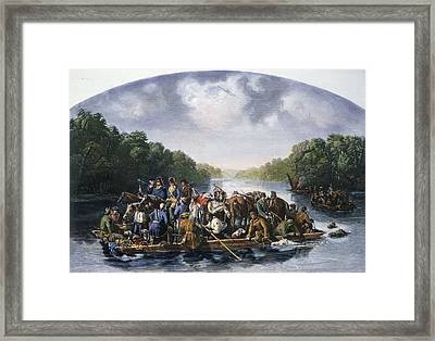 Francis Marion (c1732-1795) Framed Print by Granger