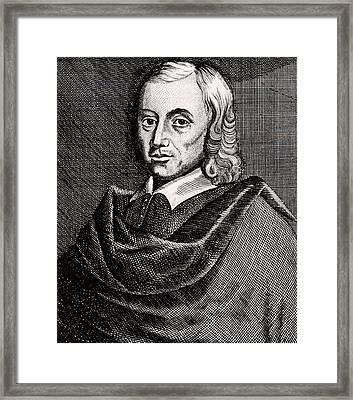 Francis Mercurius Van Helmont Framed Print by Universal History Archive/uig