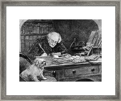 Francis Ronalds Framed Print