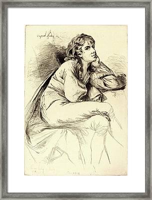 Francis Seymour Haden After Joseph Wright Framed Print