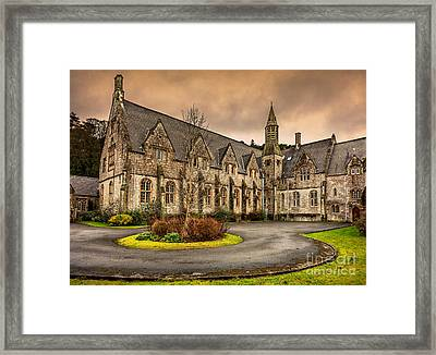 Franciscan Friary Framed Print by Adrian Evans