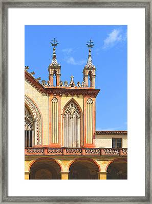 Franciscan Monastery In Nice France Framed Print by Ben and Raisa Gertsberg