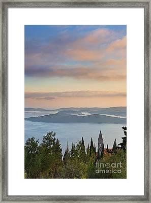 Orebic Monastery Framed Print by Rod McLean
