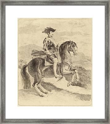 Francisco De Goya After Diego Velázquez Framed Print